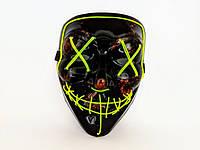 "Неоновая маска ""Судная ночь"" / Светящаяся маска / Led Purge Mask Неон маска  |оригинал|"