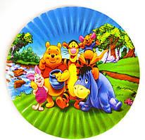 Тарелки одноразовые с рисунком 10 штук, для тематических празников