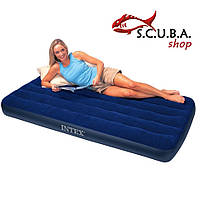 Односпальный надувной матрас INTEX 68950 размеры 76 Х 191 Х 22 см