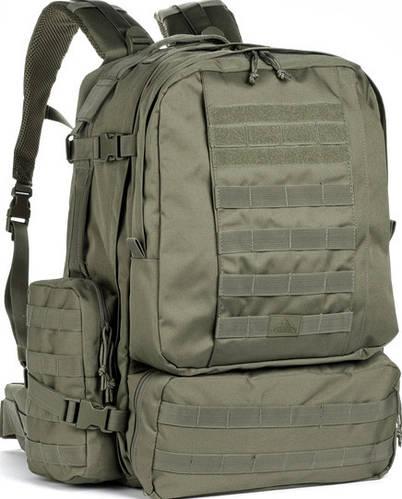 Мужской прочный рюкзак для охоты Red Rock Diplomat 52, 921446 оливковый