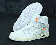 Мужские кроссовки Nike Jordan Off White . ТОП Реплика ААА класса., фото 3