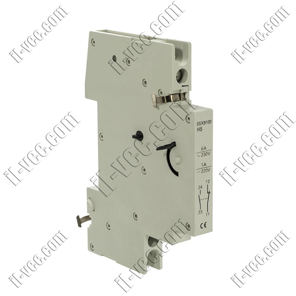 Блок контактов состояния Siemens 5SX9100, 1NO+1NC для АВТ. 5SX2, 5SX4, 5SX5