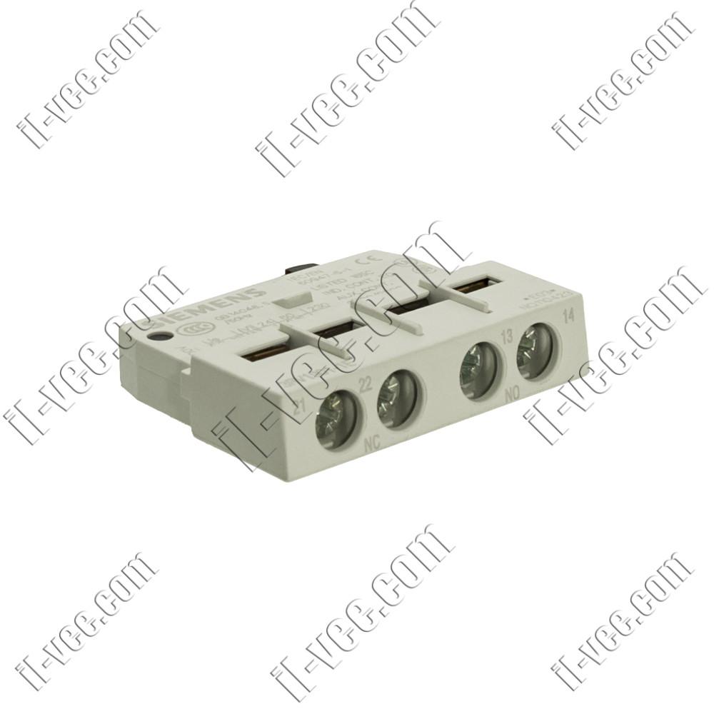 Блок вспомогательных контактов Siemens 3RV1901-1E, 1NO+1NC