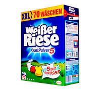 Weißer Riese Kraft Pulver порошок для стирки белья 4,9 кг- 70 стирок