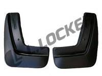 Брызговики полиуретановые Chevrolet Aveo II SD (12-) (Шевроле Авео 2) (2 шт) задние