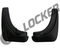 Брызговики полиуретановые Opel Astra H HB (04-) (Опель Астра н) (2 шт) задние
