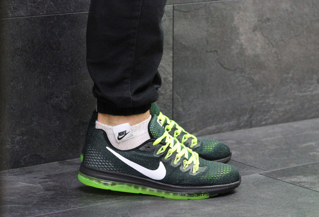3b443ec5 Мужские кроссовки Nike Zoom All Out Green, зеленые. Код товара : KS 277 -