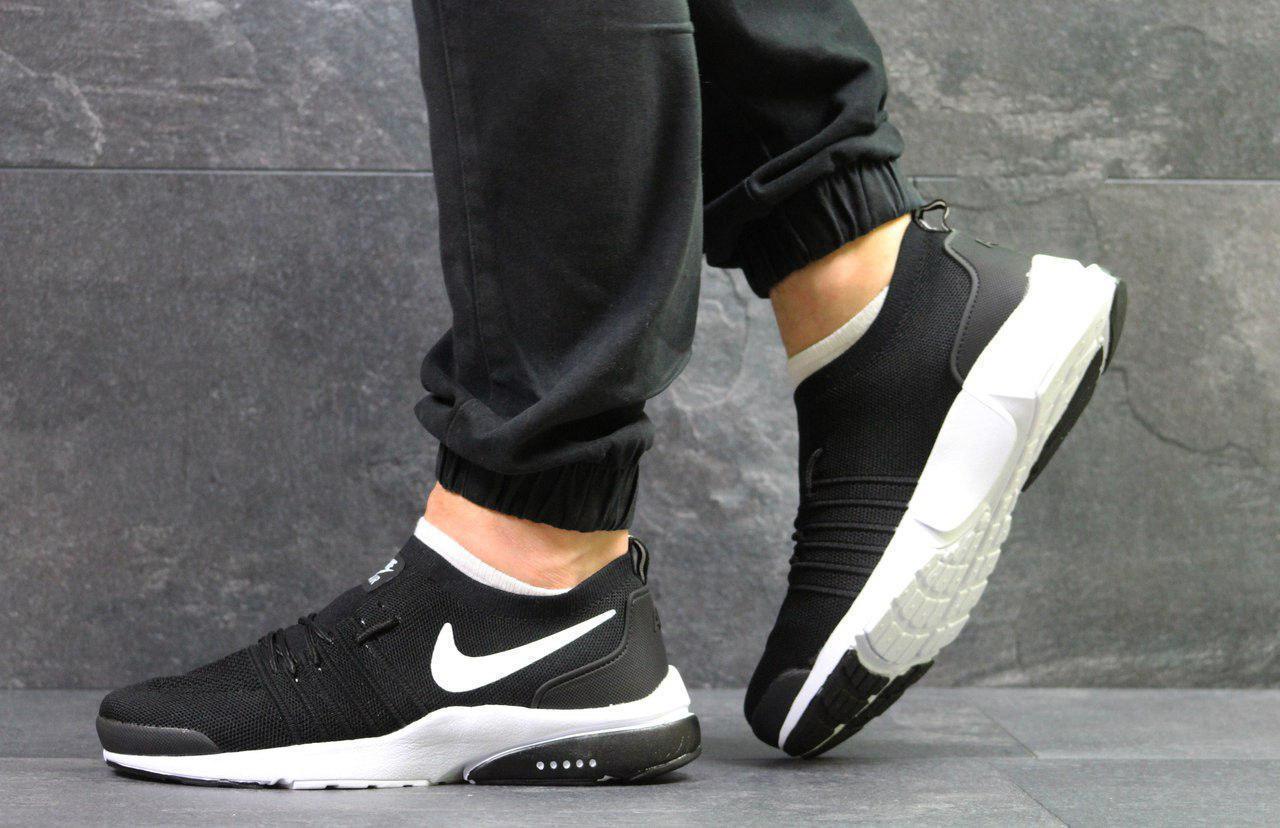 2fca9e8d Мужские кроссовки Nike Air Presto Fly Black/White, черные. Код товара : KS