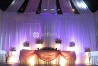 Оформление тканями, прокат чехлов на стулья, салфеток, юбки на столы, красивый декор на свадьбу