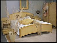Ротанговая кровать.