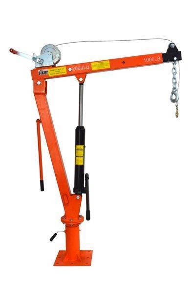 Кран подъемник гидравлический Siker 900 кг
