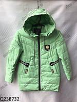 """Куртка на девочку весенняя (7-11 лет) """"Spider""""  LB-1048, фото 1"""