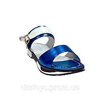 Сандали для девочки Garstuk B661-K139-1, Синий, 33