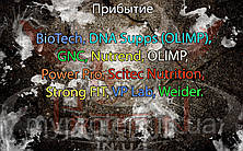 Поступление: BioTech, DNA Supps (OLIMP), GNC, Nutrend, OLIMP, Power Pro, Scitec Nutrition, Strong FIT, VP Lab, Weider.