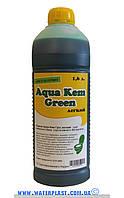 Жидкость для биотуалета для нижнего бака аqua green 1.6 л