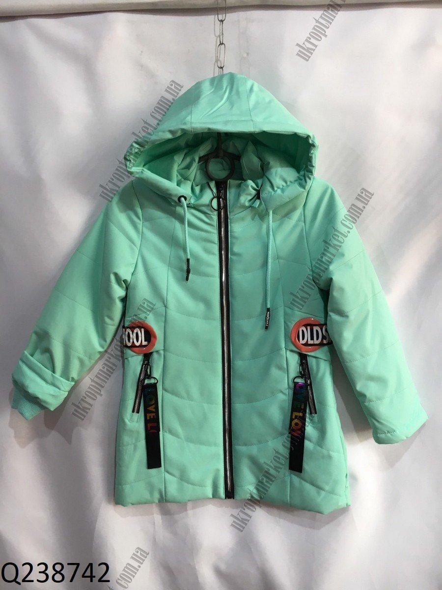 """Куртка на девочку весенняя (5-9лет) """"Spider""""  LB-1048"""