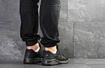 Мужские кроссовки Asics (Черные) , фото 2