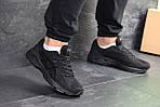Мужские кроссовки Asics (Черные) , фото 3