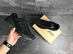 Мужские кроссовки Asics (Черные) , фото 5