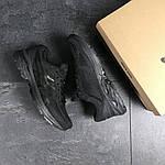 Мужские кроссовки Asics (Черные) , фото 6
