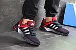Мужские кроссовки Adidas Fast Marathon (темно-синие с красным), фото 2