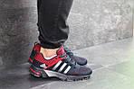 Мужские кроссовки Adidas Fast Marathon (темно-синие с красным), фото 3