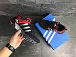 Мужские кроссовки Adidas Fast Marathon (темно-синие с красным), фото 4