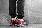 Мужские кроссовки Adidas Fast Marathon (темно-синие с красным), фото 5