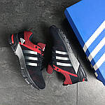 Мужские кроссовки Adidas Fast Marathon (темно-синие с красным), фото 6