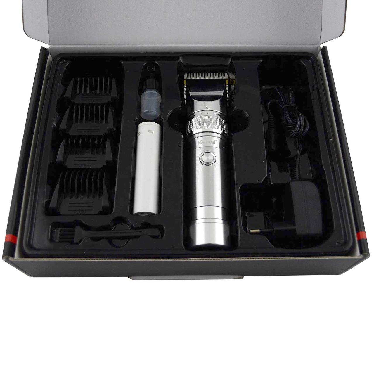 Машинка для стрижки бороды или волос Gemei GM-730 триммер для волос с утонченным дизайном