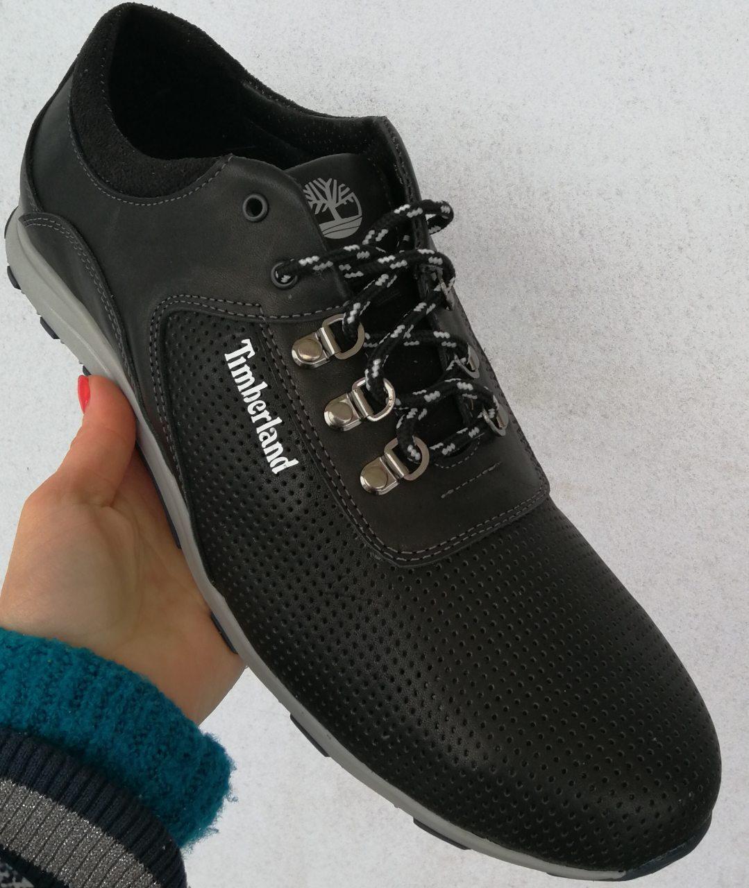 В стиле Timberland мужские кроссовки перфорация большого размера 46-50