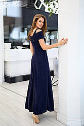 Блистательное платье с люрексом