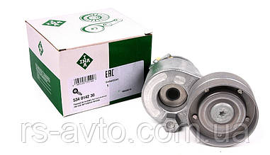Натяжитель поликлинового ремня(генератора)+AC INA 534 0142 30 Renault Trafic Master 1.9dci 2.0 2001> Германия