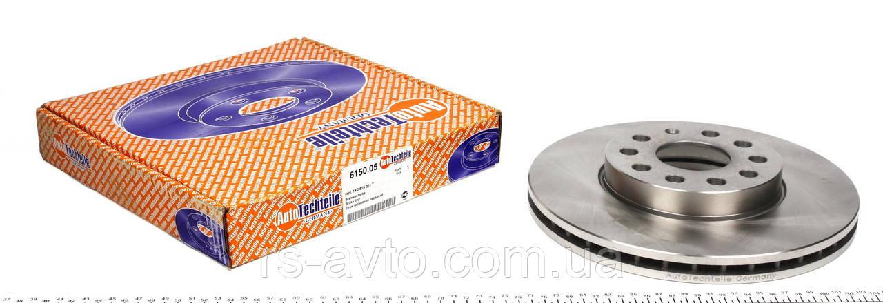 Тормозной диск Кадди / Caddy 2004 - / Golf 1.6 1.9TDI/ Jetta1.6/Touran 2005-(288X25 передний ) Германия 6150.0