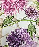 10603-1, павлопосадский платок хлопковый (батистовый) с швом зиг-заг, фото 4