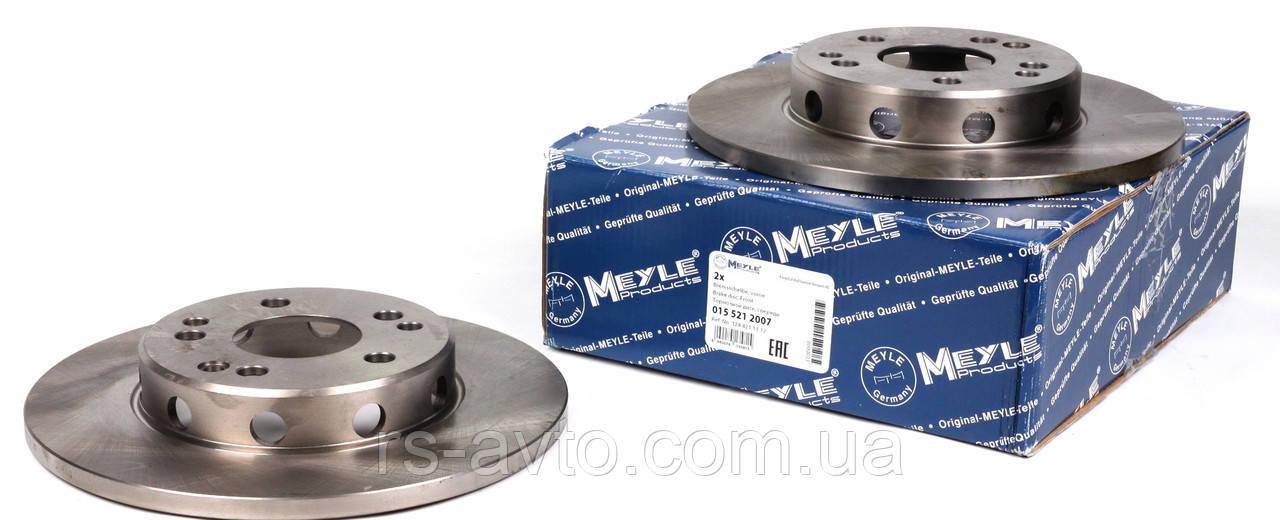 Диск тормозной передний мерседес 124 / Mercedes E-Klass W124 до 1997 Германия 015 521 2007 (284x12)