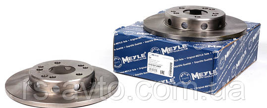 Диск тормозной передний мерседес 124 / Mercedes E-Klass W124 до 1997 Германия 015 521 2007 (284x12), фото 2