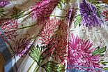 10603-1, павлопосадский платок хлопковый (батистовый) с швом зиг-заг, фото 8