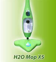 Паровая швабра H2O Mop X5,пароочиститель