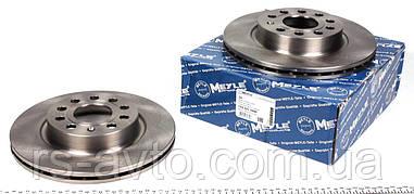 Гальмівний диск Фольксаген кадді /Caddy/ Octavia 2004 - MEYLE 1155211044 передній вентильований [280x22]