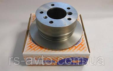 Гальмівний диск (Задній) 5 отворів Sprinter208-216 -1995> VWLT-28-35/28-46-1996>Німеччина