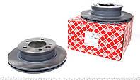 Диск тормозной передний Мерседес Спринтер / Sprinter c 1995 (285*22) FEBI 38623 Германия USA тип