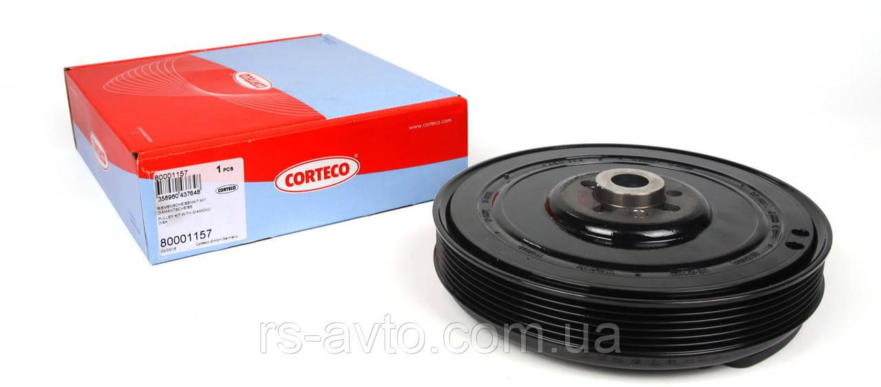 Шкив коленвала ЛТ + Т4 + Крафтер + Ауди А6 (T4/LT/Audi A6) + шайба, Corteco Германия