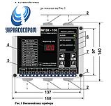 МПЗК-150 40-60 А  прибор защиты и контроля, фото 2