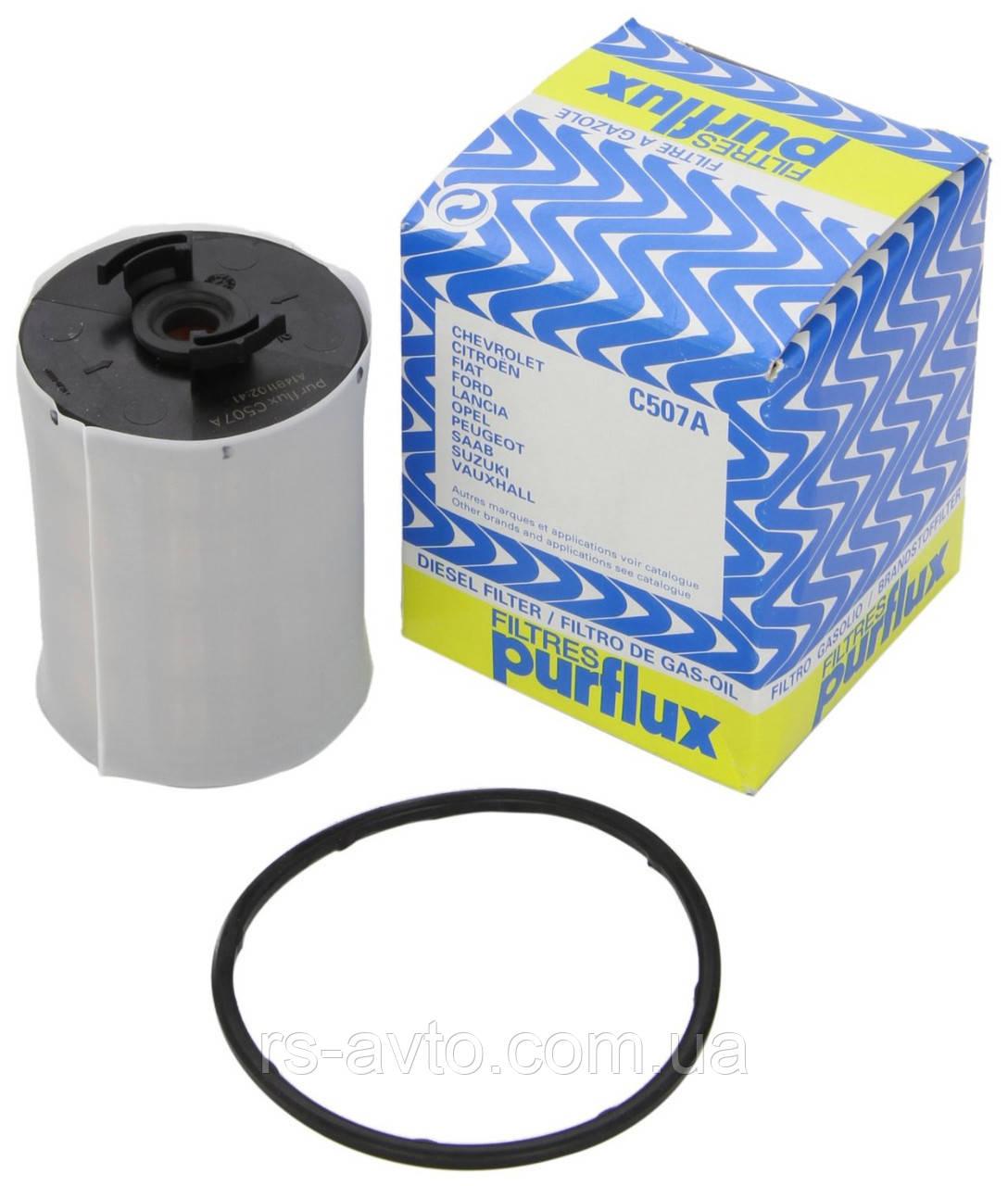 Топливный фильтр  PURFLUX C507 Fiat Ducato\Citroen Jumper Peugeot Boxer/2.2/2.3/3.0-MJTD/HDI-2006> Франция