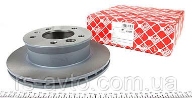 Гальмівний диск передній Фольксваген ЛТ / Sprinter 901-904 / VW LT c 1996 - 2006 FEBI 07517 Німеччина