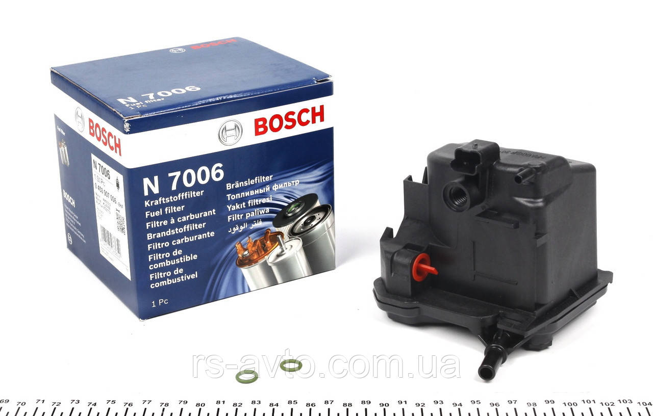 Фильтр топливный Berlingo - Partner -05>+ Expert-/ Scudo-07>1.6D/HDI Bosch 0 450 907 006-Германия