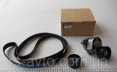 Ремень генератора Трафик +Виваро+Мастер (Renault Master/Trafic 2.5dCI) + ролики (комплект) 06- +AC Оригинал
