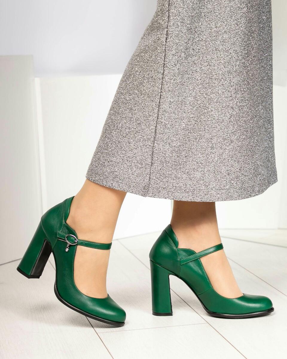 5ff08986a Туфли женские зеленые с ремешком кожаные - Интернет-магазин обуви TINA LUX  в Днепропетровской области