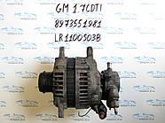 Генератор опель Астра G, opel Astra G 1.7CDTI LR1100503B, 8973551981